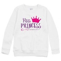 Kids Sweatshirt white with PPC logo