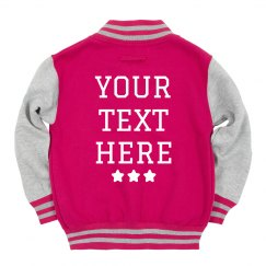 Customize This Kids Varsity Jacket