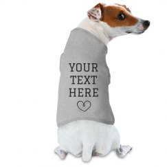 Custom Dog Raglan Tee