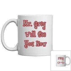 Mr. Grey Mug