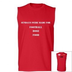 """Sundays"" Muscle Tee"