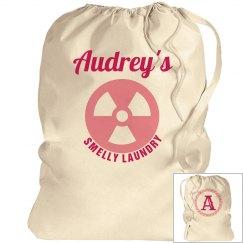 AUDREY. Laundry bag