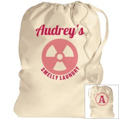 AUDREY. Laundry bag