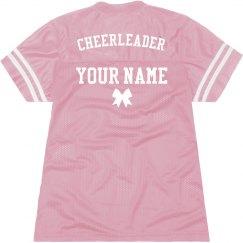 Cheerleader Billboard Jersey Bow