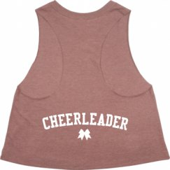 Ladies Racerback Cropped Premium Tank