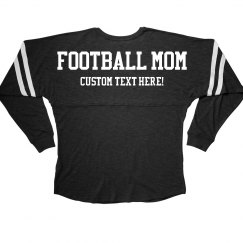 Football Mom Spirit Custom Text