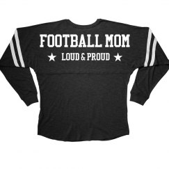 Cute Football Mom Long Billboard