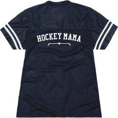 Hockey Mom Cute Billboard Jersey