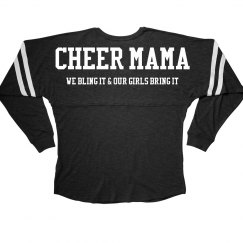 Cheer Mom Bling it Billboard Tee