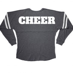 Cheer Cute Billboard Long Jersey