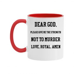 Royal Prayer Mug