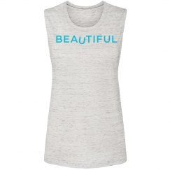 BEAuTIFUL Women's Muscle Tank