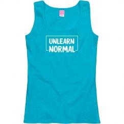 UnlearnNormal Women's Scoop Tank