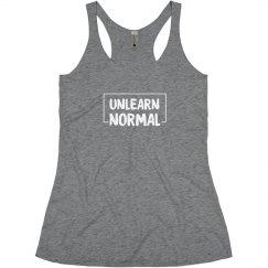 UnlearnNormal Women's Racer Tank