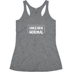 UnlearnNormal Women's Racer Tank