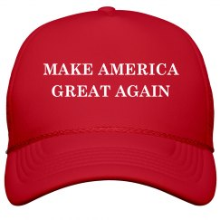 Make America Great Trump Costume Hat