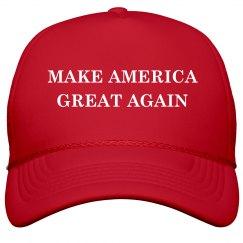 Make America Great Trump Costume Hat