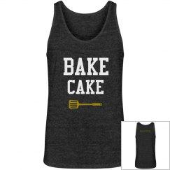 Mens Bake Cake Gold