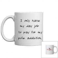 Pole Addiction Mug - white
