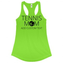Custom Tennis Mom Neon Gear