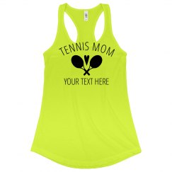 Cute & Custom Tennis Mom Apparel