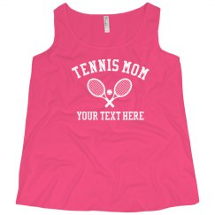 Custom Plus Size Tennis Mom