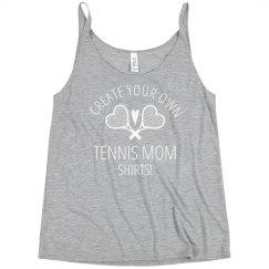 Customizable Plus Size Tennis Mom