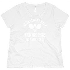 Custom Plus Size Tennis Player Name