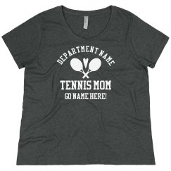 Custom Plus Size Tennis Player Name