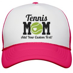 Custom Tennis Mom Cute Neon