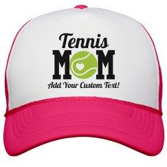 Custom Tennis Mom Cute Neon