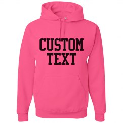 Create a Custom Neon Hoodie