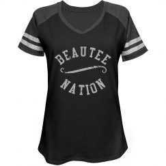 BEAUTEE NATION JERSEY STYLE 2 - Black