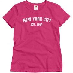 New York City Est. 1624