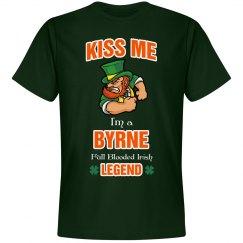 Kiss me I'm a Bryne