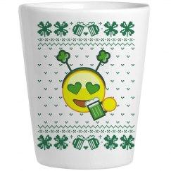 Drinking Irish Shot glass