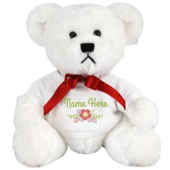 Personalized Bear Gift