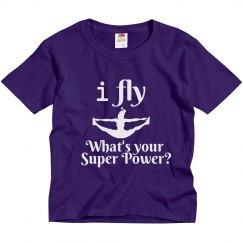 I fly, super power tee
