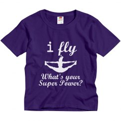 I fly, super power tee