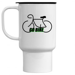 Go Bike -  15 oz Travel Mug