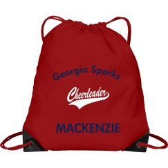 GSC Personalized Drawstring Tote Bag