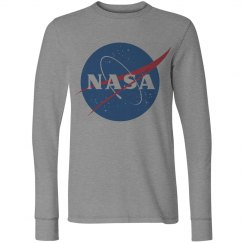 Trendy NASA Logo Graphic Tee