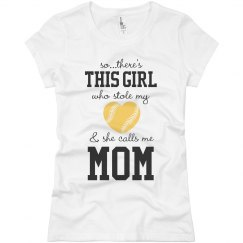 Softball Mom's Heart
