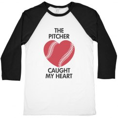 The pitcher caught my heart