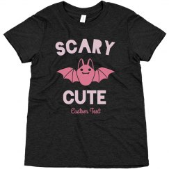 Scary Cute Halloween Youth Tee
