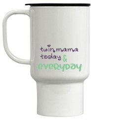 Twin Mama travel mug