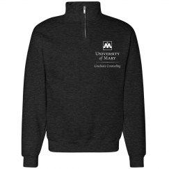 partial zip sweatshirt