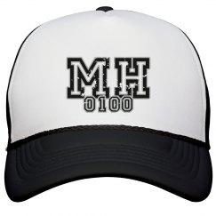 MOHITZ Snapback (BLACK & WHITE)