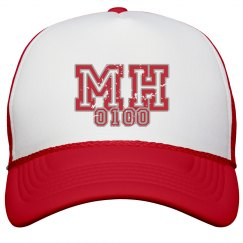 MOHITZ SNAPBACK (RED & WHITE)