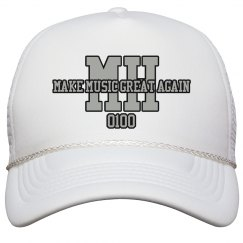 MH SNAPBACK (Make Music Great Again)BLACK/SILVER